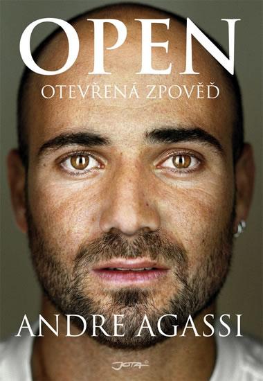 Open - Otevřená zpověď - Agassi Andre - 15,4x21,6