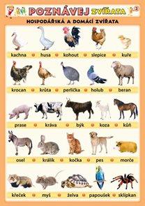 Poznávej zvířata - Hospodářská a domácí zvířata