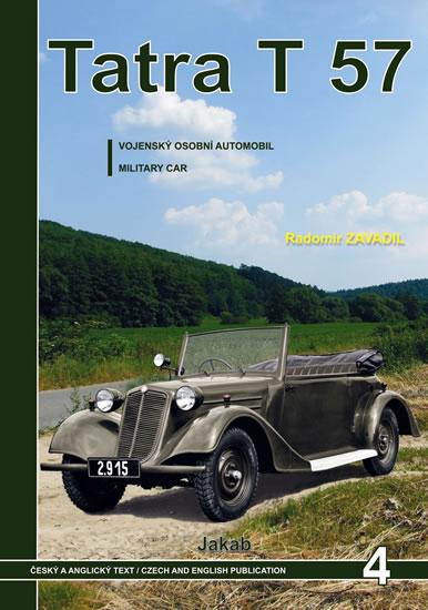 Tatra 57 - Vojenský osobní automobil - Zavadil Radomír - 21,6x30,3
