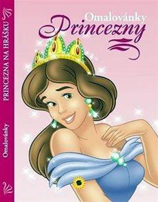 Princezny - Princezna na hrášku - omalovánky