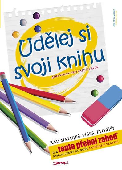 Udělej si svoji knihu - 400 stran pro vaše nápady - neuveden - 23x30,7