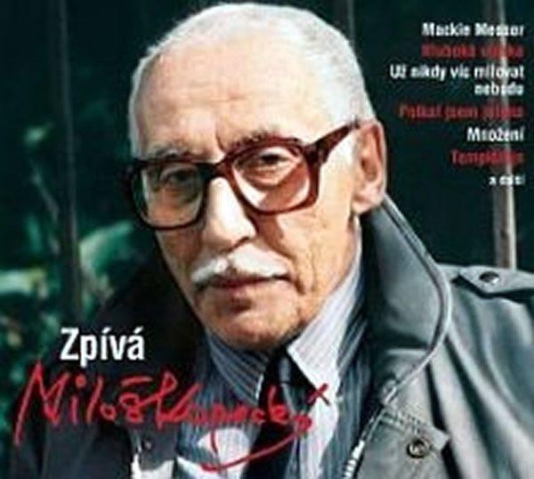 Zpívá Miloš Kopecký - CD - neuveden - 12,5x14