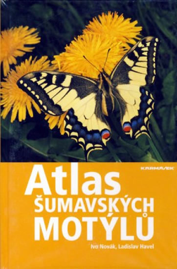 Atlas šumavských motýlů - Novák Ivo, Havel Ladislav, - 15x22,5