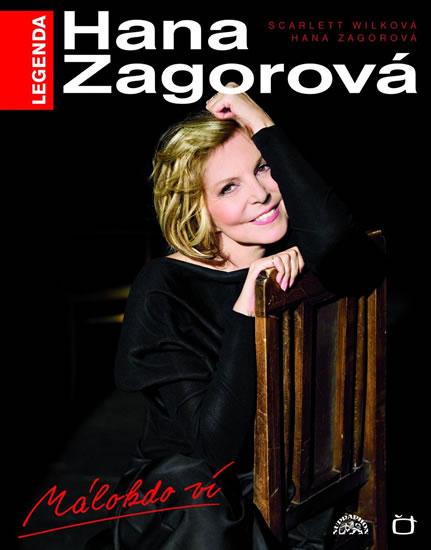 Hana Zagorová - Málokdo ví, kniha + CD - Zagorová Hana - 24,5x31,5