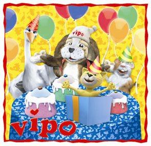 Vipo - omalovánky narozeniny