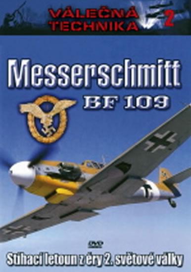 Messerschmitt BF109 - Válečná technika 2 - DVD - neuveden - 14,8x21