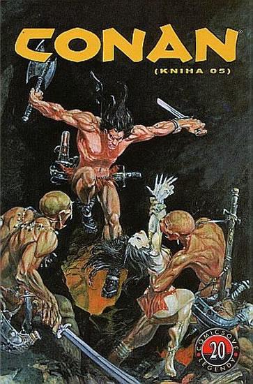 Conan (kniha O5) - Comicsové legendy 20 - Thomas Roy, Buscemi John - 16,6x25