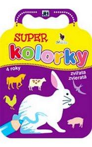 Super kolorky zvířata - Omalovánky pro nejmenší