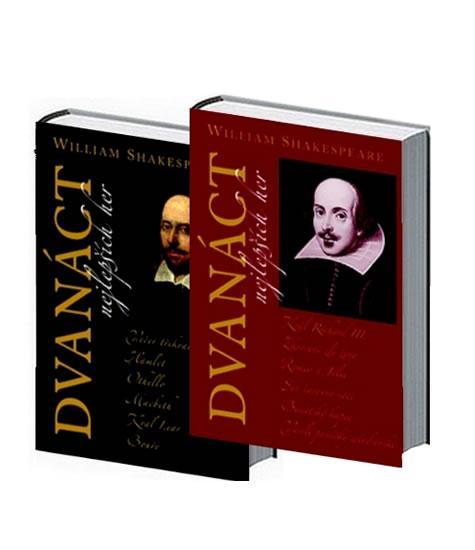 Dvanáct nejlepších her 1+2 - komplet - Shakespeare William - 15,4x21,7
