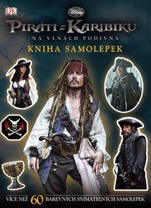 Piráti z Karibiku - Na vlnách podivna - Kniha samolepek