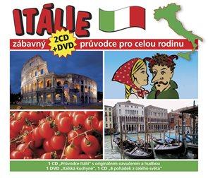 Itálie - Zábavný průvodce pro celou rodinu - 2CD + DVD