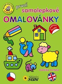 První samolepkové omalovánky - Ovečka Olinka