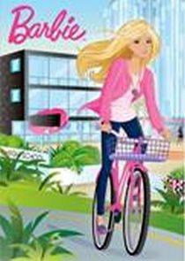 Barbie školačka - Omalovánky A4