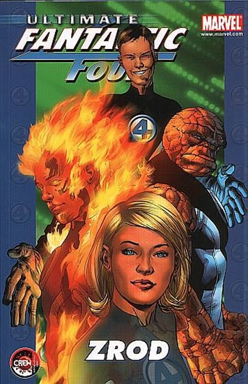 Ultimate Fantastic Four 1 - Zrod - Bendis Brian Michael - 16,9x25,8