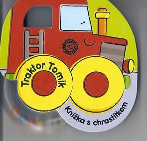 Traktor Tomík - Knížka s chrastítkem