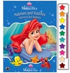 Ariel - Omalovánky s barvami