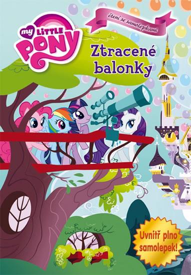 My Little Pony - Ztracené balónky - Knížka se samolepkami - 20,5x29,5