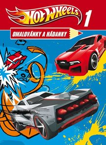Hot Wheels 1 - Omalovánky a hádanky