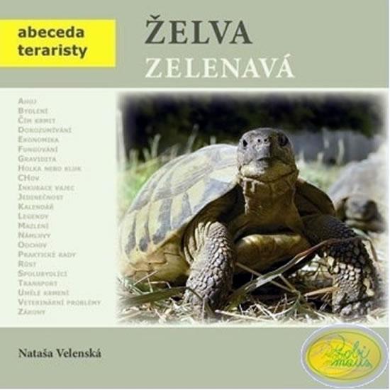 Želva zelenavá - Abeceda teraristy - 2. vydání - Velenská Nataša - 19x19