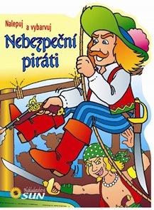 Nebezpeční piráti - nalepuj a vybarvuj
