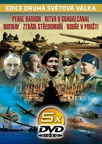 Druhá světová válka - 2. díl - 5DVD