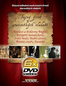 Tajný život starověkých vladařů - 6DVD