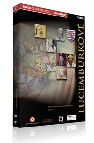 Lucemburkové - 3 DVD