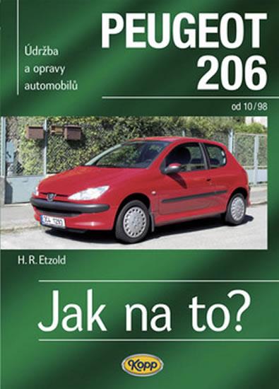 Peugeot 206 od 10/98 - Jak na to? č. 65 - Etzold Hans-Rudiger Dr. - 20,6x28,8