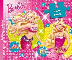 Barbie - 9 dílná kniha puzzle