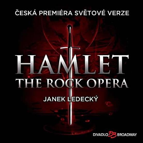 Muzikál - Hamlet (The Rock Opera) - CD - neuveden - 12,5x14,2