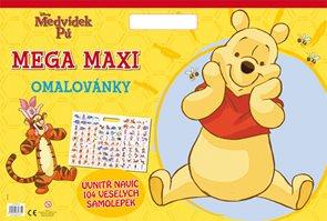 Medvídek Pú - Mega maxi omalovánky