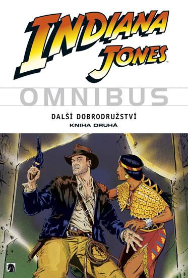 Indiana Jones - Omnibus - Další dobrodružství - kniha druhá - Michelinie a kolektiv David - 16,7x23,7