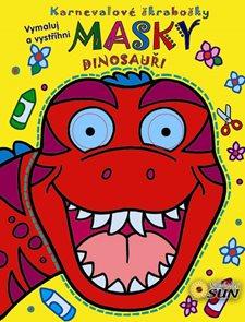 Masky - Dinosauři - Karnevalové škrabošky