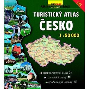 Turistický atlas Česko 1: 50 000 + cyklotrasy