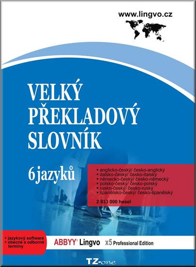 Velký překladový slovník - 6 jazyků A,I,N,Pl,R,Š - CD-ROM - neuveden - 13,6x19,1, Doprava zdarma