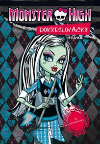 Monster High - Frankie - Dokreslovačky se samolepkami