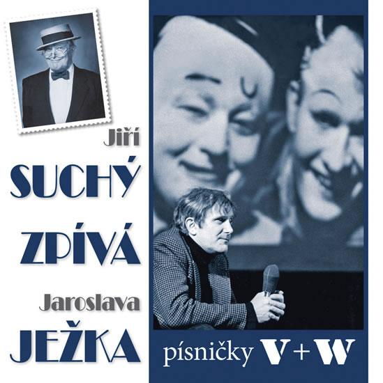Suchý zpívá Ježka CD - Suchý Jiří - 12,5x14,2