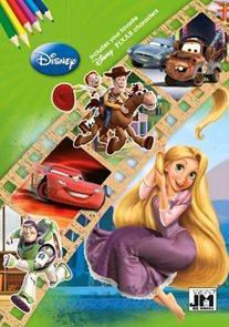 Disney postavičky Omalovánka A5+