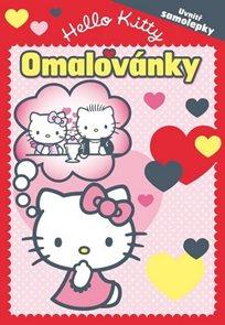 Hello Kitty - Omalovánky se samolepkami (2012-105)