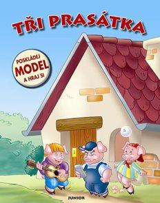 Tři prasátka - Poskládej model a hraj si!