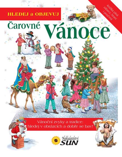 Čarovné Vánoce - Hledej a objevuj - neuveden - 23,5x28,8