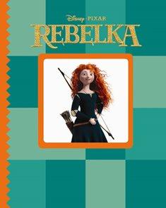 Rebelka - leporelo s okénkem