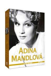 Adina Mandlová - Zlatá kolekce - 4DVD