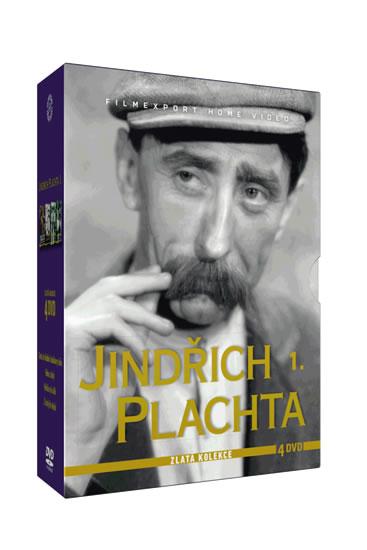 Jindřich Plachta - Zlatá kolekce - 4DVD - neuveden - 13,6x19,3
