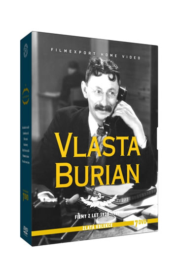 Vlasta Burian 3. - Zlatá kolekce - 7DVD - neuveden - 14,1x19