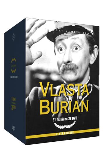 Vlasta Burian - Zlatá kolekce - 28DVD - neuveden - 14x19,1