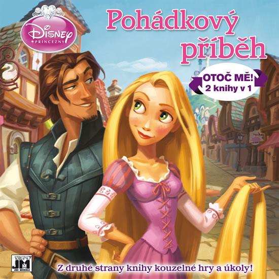 Disney princezny Pohádkový příběh-Otoč mě! 2 knihy v1 - neuveden - 24,5x24,5