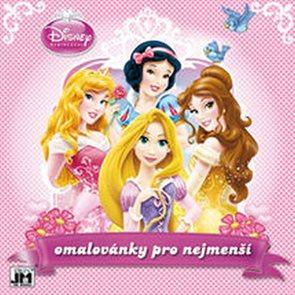 Princezny - Omalovánky pro nejmenší