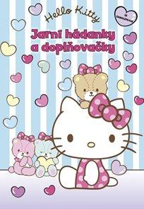 Hello Kitty - Jarní hádanky a doplňovačky + samolepky