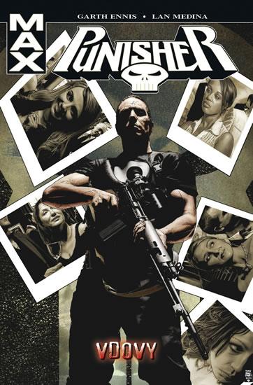 Punisher Max 8 - Vdovy - Ennis Garth - 17,1x25,8